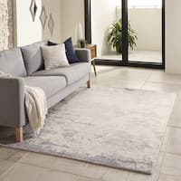 Momeni Illusions  Hand-Tufted Wool Rug (8' X 11') - 8' x 11'