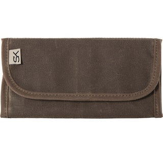 Stormy Kromer Waxed Cotton/Polyester Keepsafe Wallet