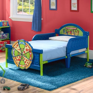 Nickelodeon Teenage Mutant Ninja Turtles 3D Toddler Bed