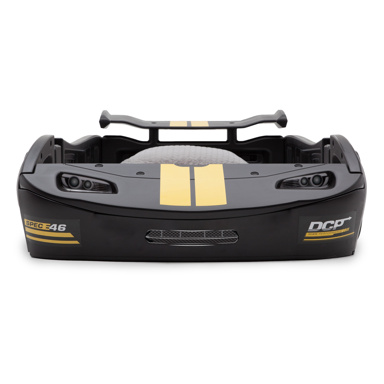 Delta Children S Black Turbo Race Car Twin Bed Overstock 12369067