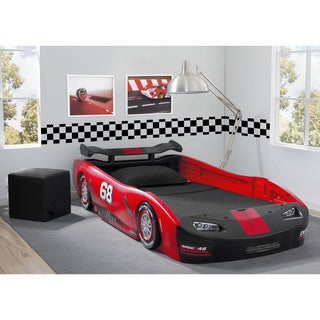 Link to Delta Children's Red Turbo Race Car Twin Bed Similar Items in Kids' & Toddler Furniture