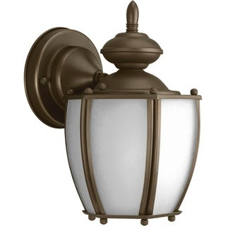 Progress Lighting P5766-20 Roman Coach Bronze Aluminum CFL One-light Wall Lantern