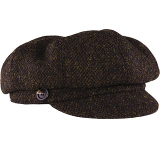 Stormy Kromer The Gatsby Cap Harris Tweed Newsboy Hat