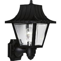 Progress Lighting P5814-31 Black Plastic Mansard 1-light Wall Lantern