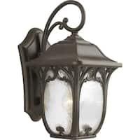 Progress Lighting Bronze Aluminum 7.5-inch Enchant One-light Wall Lantern