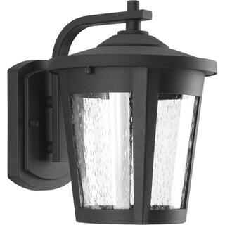 Progress Lighting East Haven black Aluminum One-light Medium LED Wall Lantern