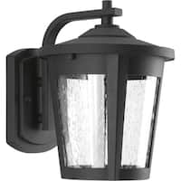 Progress Lighting East Haven black Aluminum One-light Medium LED Wall Lantern