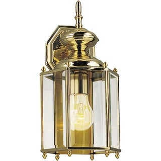 Progress Lighting P5832-10 Brass One-light Wall Lantern