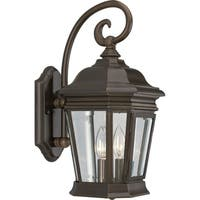 Progress Lighting P5671-108 Crawford Bronze Two-light Outdoor Wall Lantern