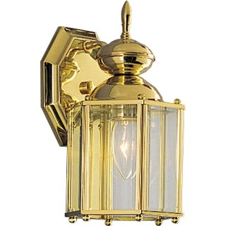Progress Lighting P5756-10 Brass Guard Lantern One-light Wall Lantern