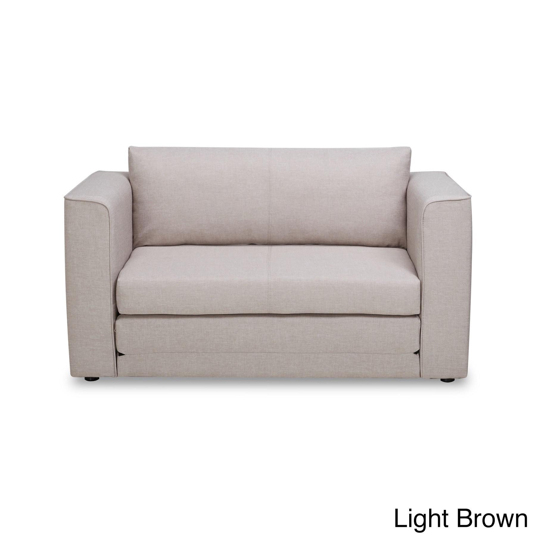 US Pride Furniture Ava Modern Reversible Fabric Loveseat ...
