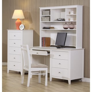 White Wood Writing Desk