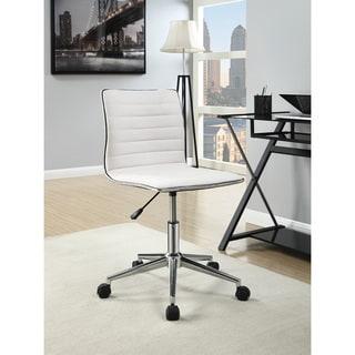 Coaster Company Cream/Chrome Office Chair