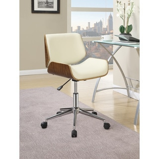 Coaster White Office Chair