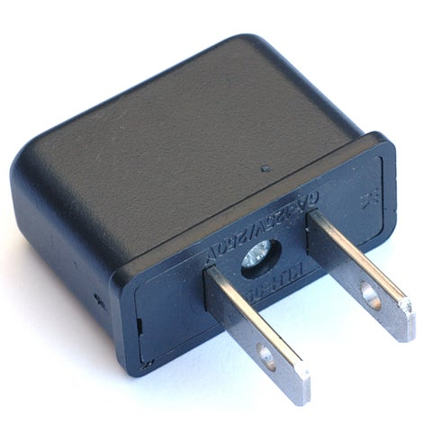 Black Point Products Inc VC-020 Foreign Adapter Plug European to US Type