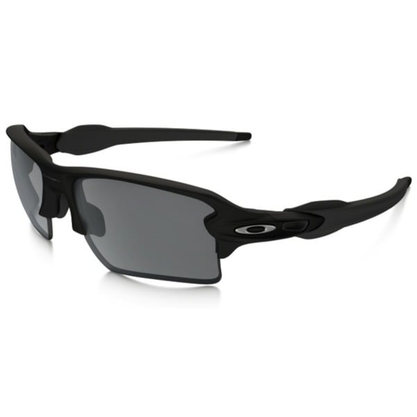 d22a2d8bb6 Shop Oakley Flak 2.0 OO9188-01 Men s Matte Black Frame Black Iridium ...