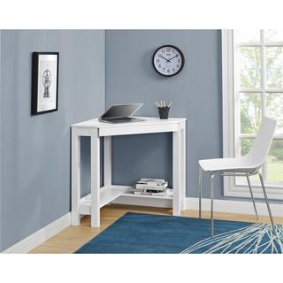 Altra Parsons White Corner Desk