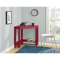 Ameriwood Home Parsons Red Corner Desk