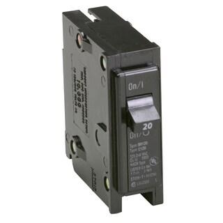 Eaton BR120 20 Amp Single Pole Circuit Breaker
