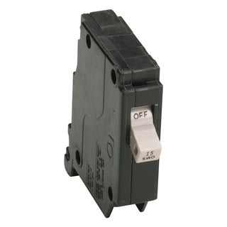 Eaton CHF115CS 15 Amp Cutler Hammer Single Pole Circuit Breaker