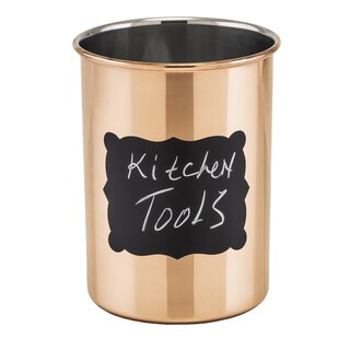 Old Dutch Copper-plated Stainless Steel 'Chalkboard' Tool Caddy