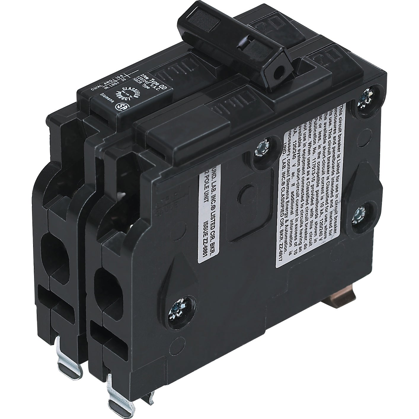 Siemens VPK-D250 50 Amp 2 Pole Circuit Breaker (Switches&...