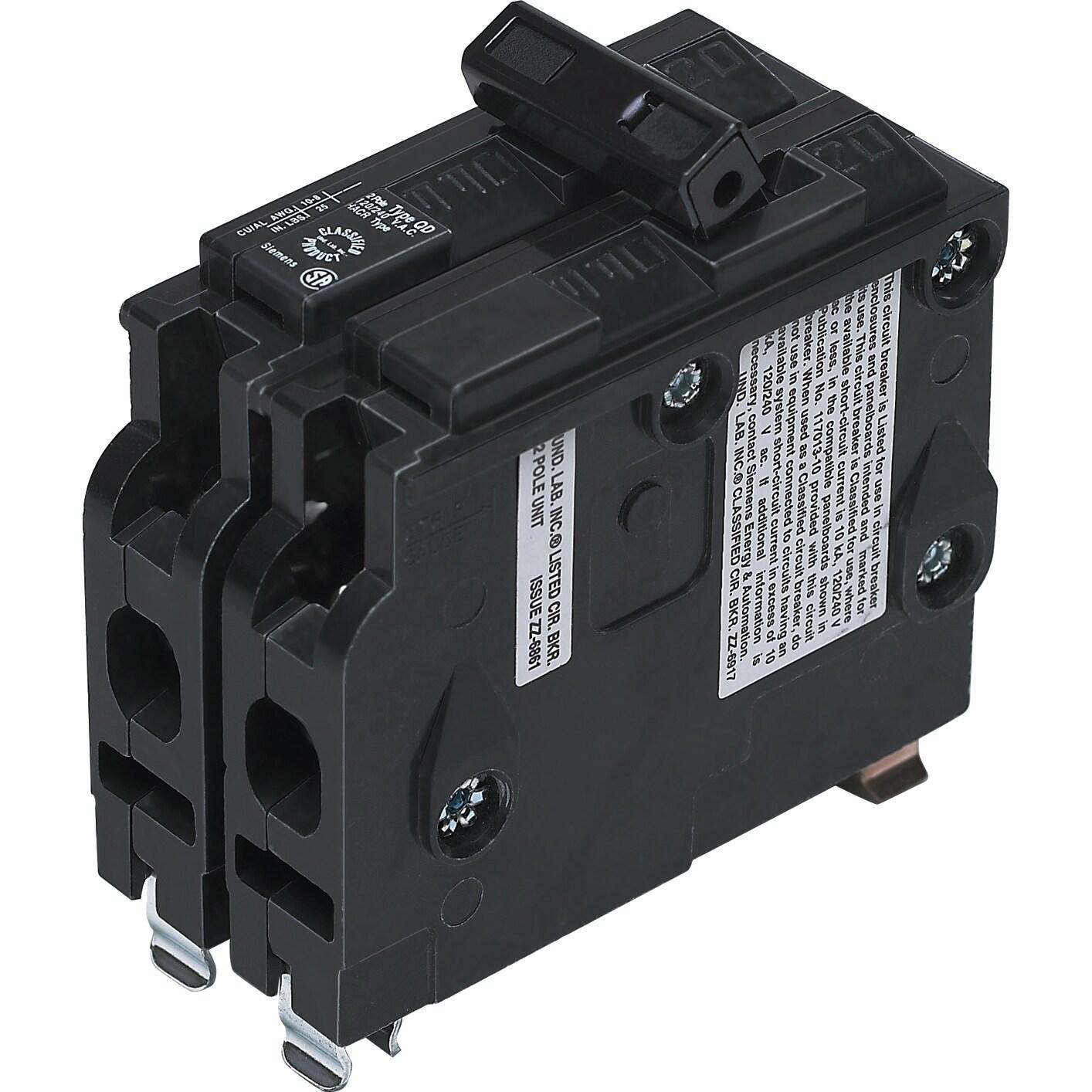 Siemens VPK-D220 20 Amp 2 Pole Circuit Breaker (Switches&...