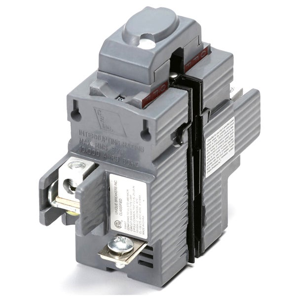 shop connecticut electric vpkubip240 40 amp double pole pushmatic circuit  breaker - free shipping today - overstock - 12369701