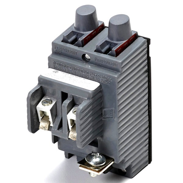 Connecticut Electric Vpkubip2020 20 Amp Single Pole Twin Pushmatic Circuit Breaker