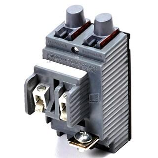 Connecticut Electric VPKUBIP1515 15/15 Amp Single Pole Twin Pushmatic Circuit Breaker