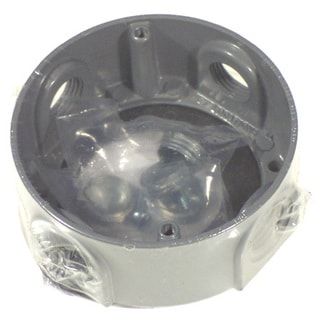 """Bell Outdoor 5363-0 4"""" Round Extension Adapter"""