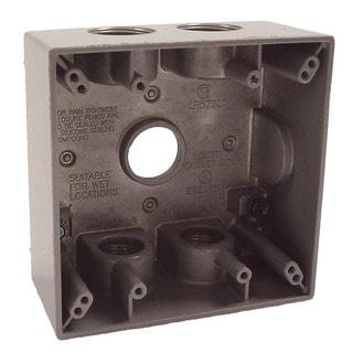 Bell Outdoor 5345-0 Two Gang Weatherproof Box