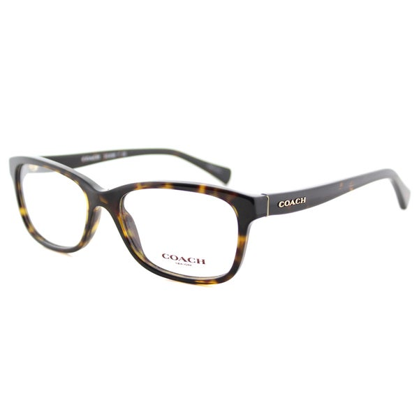 5779823d81 Coach HC 6089 5120 Dark Tortoise Plastic 51-millimeter Rectangle Eyeglasses