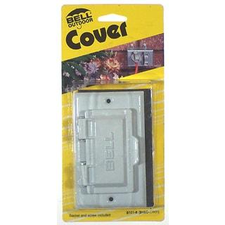 Bell Outdoor 5101-7 Bronze Single-Gang Weatherproof GFCI Box Cover