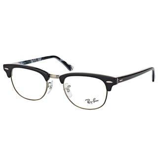 Ray-ban RX 5154 5649 Clubmaster Black/Logo Plastic 51-millimeter Eyeglasses