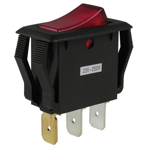 GB Gardner Bender GSW-42 Rocker Lighted Switch