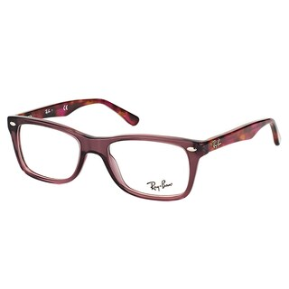 Ray-Ban RX 5228 5628 Opal Brown Plastic 50-millimeter Rectangle Eyeglasses