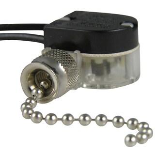 GB Gardner Bender GSW-31 Brass Plated Pull Chain Switches