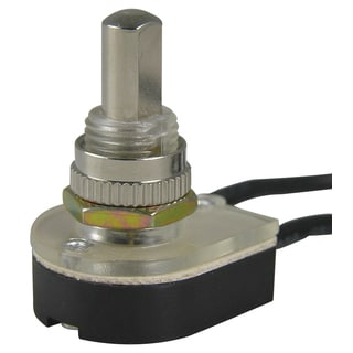 GB Gardner Bender GSW-24 Nickel Push Button Switch