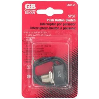 GB Gardner Bender GSW-21 Push Button Switch