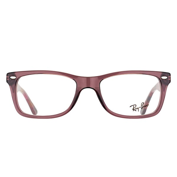 Ray Ban RX 5228 5628 Opal Brown Plastic 53 millimeters Rectangle Eyeglasses