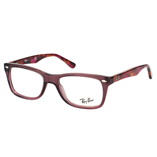 abe6b5f3c73 Ray-Ban RX 5228 5628 Opal Brown Plastic 53-millimeters Rectangle Eyeglasses