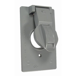 Raco 5155-0 1 Gang Gray Device Cover