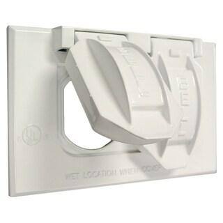 Raco 5180-1 2 Gang White Duplex Device Mount