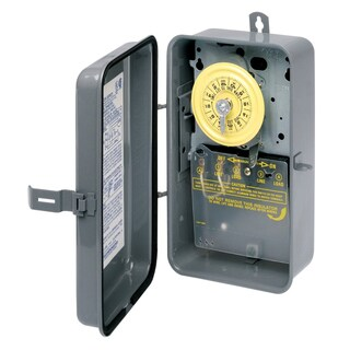 Intermatic T104R 40 Amp Type 3R Steel Mechanical Timer