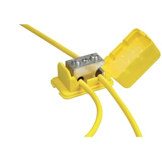 King Safety Products 90120 Yellow Direct Bury Lug 5-count