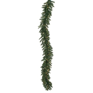 Imperial 9-foot x 16-inch Garland With 100 Clear Dura-Lit Lights