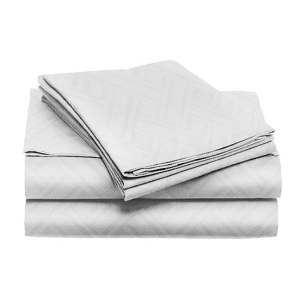 Home Dynamix Chelsea Willow Collection Solid Color Pattern Sheet Set (4 piece set)