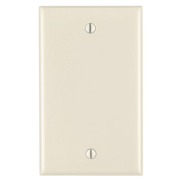 Leviton 005-80514-00T 1-Gang Almond No-Device Blank Wall Plate. Opens flyout.