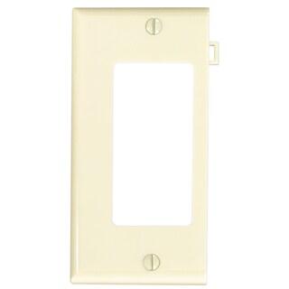 Leviton 004-PSE26-00I Ivory Thermoplastic Nylon Sectional Decora Wallplate